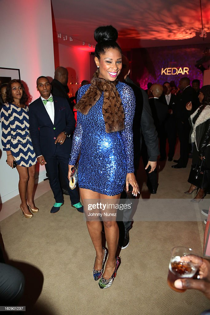 Jennifer Williams attends Kedar Massenburg's 50th Birthday Celebration at Water Fall Mansion on February 28, 2013 in New York City.