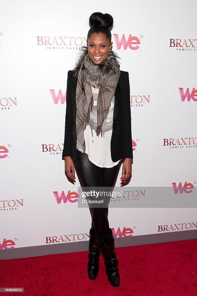 Jennifer Williams attends the 'Braxton Family Values' Season Three premiere party at STK Rooftop on March 13, 2013 in New York City.