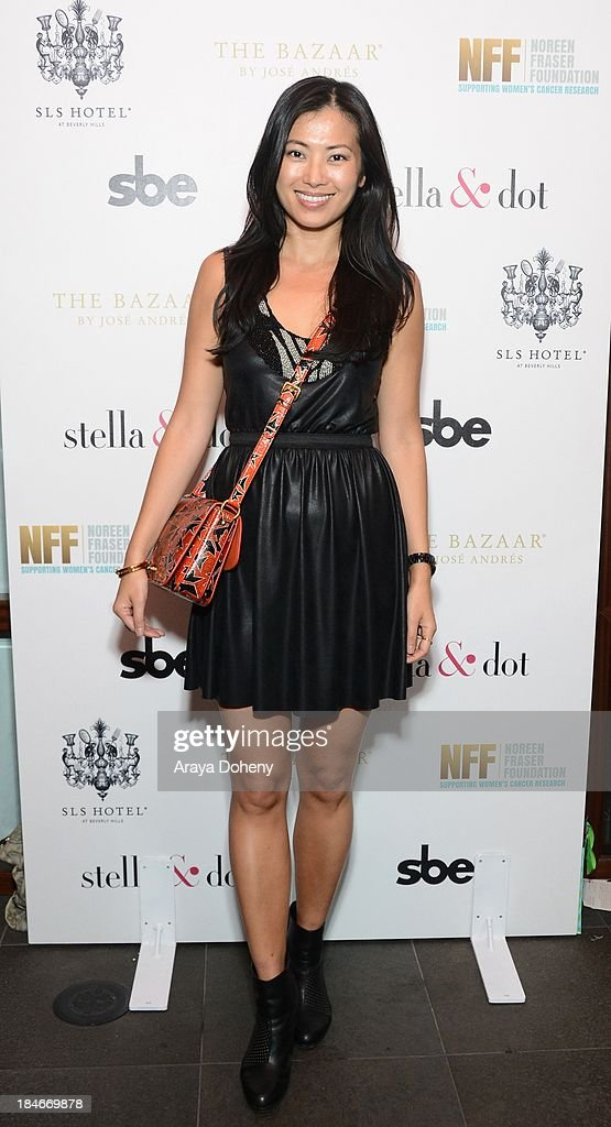 Jennifer Yen attends the Stella & Dot Trunk Show Benefiting The Noreen Fraser Foundation at The Bazaar at the SLS Hotel Beverly Hills on October 14, 2013 in Los Angeles, California.