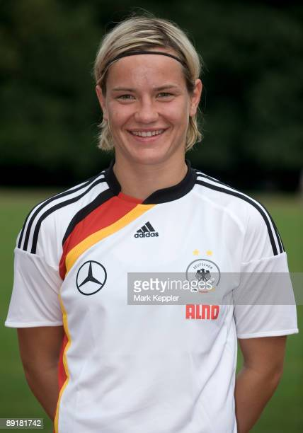 Jennifer Zietz poses during the Women's German National team presentation on June 25 2009 in Cologne Germany