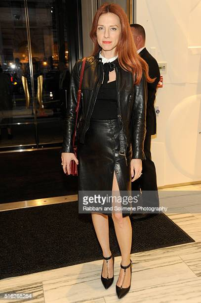 Jennifer Zuccarini attends the Barneys New York celebration of its new downtown flagship in New York City on March 17 2016 in New York City