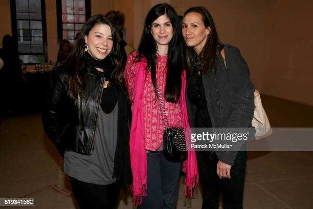 Jenny Ade Joelle Stern and Lindsey Legarrec attend 'The Transformation of ENRIQUE MIRON as El Diablo' by PAUL ROWLAND at 548 W 22nd St on April 29...