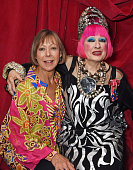 Jenny Agutter and Dame Zandra Rhodes attend a party to celebrate Zandra Rhodes becoming a Dame at The Fashion and Textile Museum on February 13 2015...