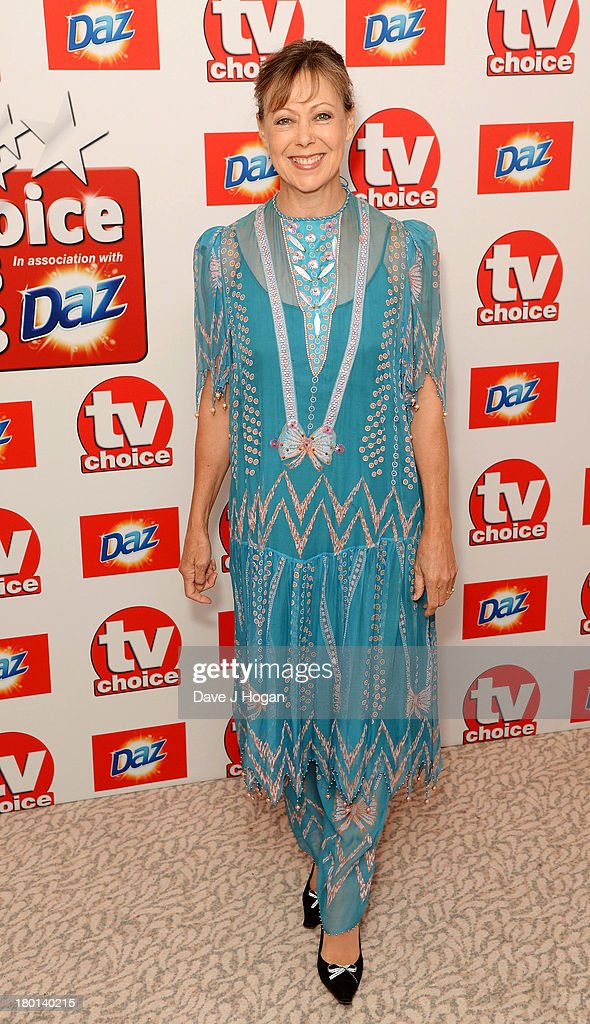 Jenny Agutter attends the TV Choice Awards 2013 at The Dorchester on September 9, 2013 in London, England.