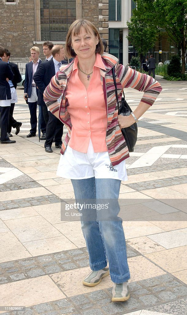 <a gi-track='captionPersonalityLinkClicked' href=/galleries/search?phrase=Jenny+Agutter&family=editorial&specificpeople=240123 ng-click='$event.stopPropagation()'>Jenny Agutter</a> during 'Men In Pants' Day to Raise Money and Awareness for The Orchid Cancer Appeal at Guildhall in London, Great Britain.