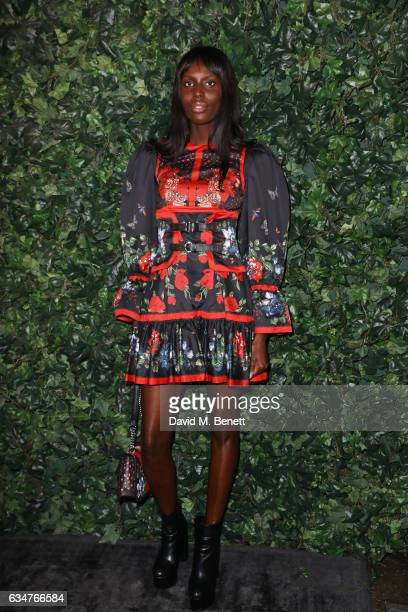 Jenny Bastet attends a pre BAFTA party hosted by Charles Finch and Chanel at Annabel's on February 11 2017 in London England