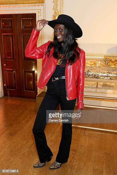 Jenny Bastet attends a private dinner hosted by Stuart Weitzman and Gigi Hadid to celebrate the opening of the Stuart Weitzman London Flagship Store...