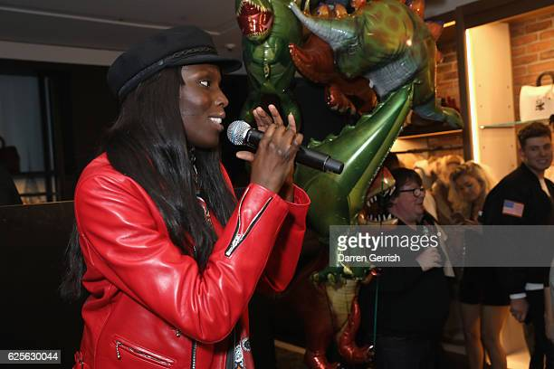 Jenny Bastet attends Coach House Regent Street Launch Party on November 24 2016 in London England