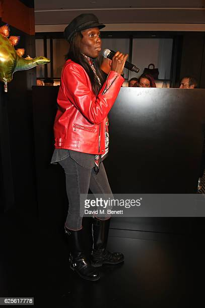 Jenny Bastet attends the launch of Coach House Regent Street on November 24 2016 in London England