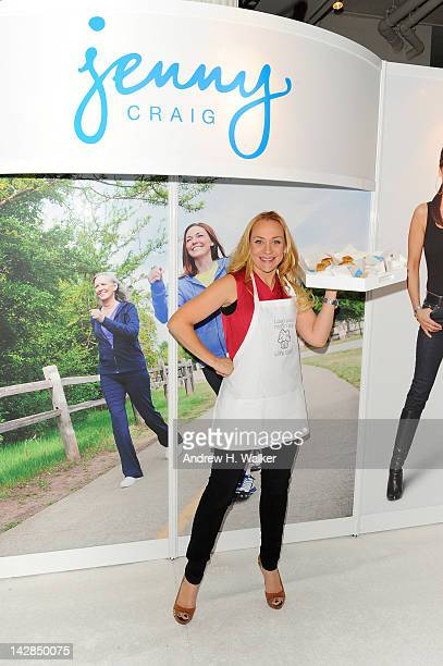 Jenny Craig Brand Ambassador Nicole Sullivan attends The More Magazine Fitness Magazine Health and Wellness Expo at Metropolitan Pavilion on April 13...
