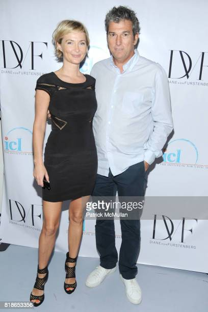 Jenny Dyer and Andrew Rosen attend INSTITUTE FOR CIVIC LEADERSHIP 2010 Spring Benefit at DVF Studio on June 15 2010 in New York City