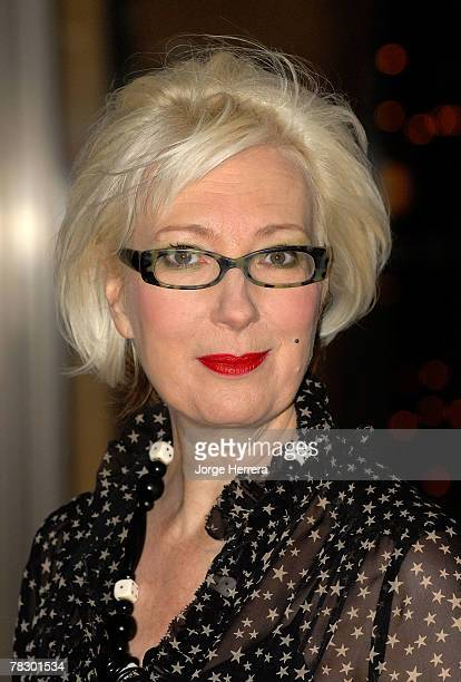 Jenny Eclair arrives at the Five Women In Film And Television Awards at the Hilton Park Lane on December 7 2007 in London England