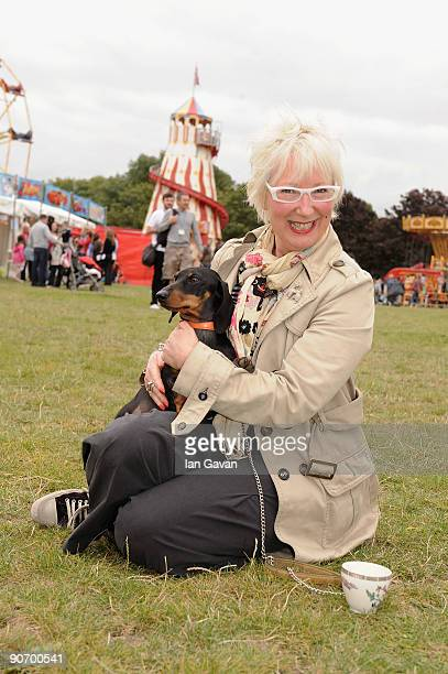 Jenny Eclair attends the Boomerang Pet Personality Awards in Regent's Park on September 13 2009 in London England
