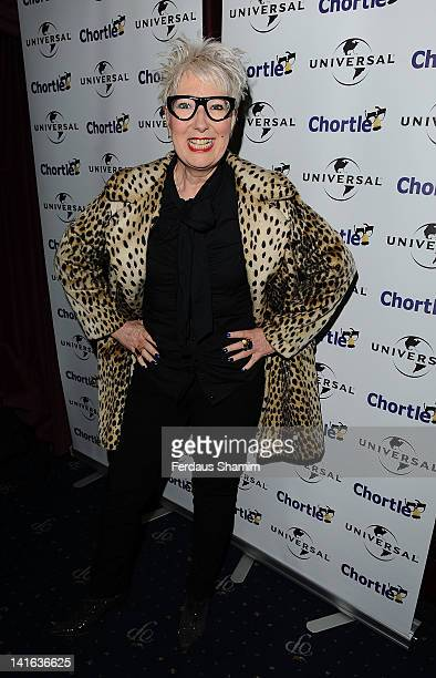 Jenny Eclair attends the Chortle Awards at Cafe de Paris on March 20 2012 in London England