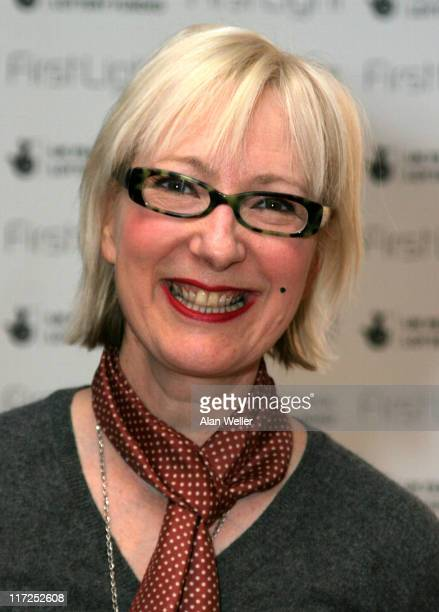 Jenny Eclair during 2006 First Light Film Awards Press Room at Sound Leicester Square in London Great Britain