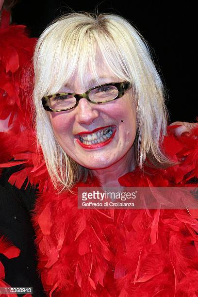 Jenny Eclair during 'The Vagina Monologues' London Photocall at Wyndham's Theatre in London Great Britain