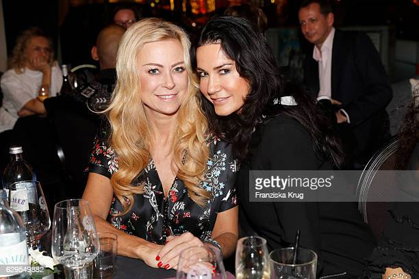 Jenny Elvers and Mariella Ahrens attend the Shan's Beauty Dinner on December 13 2016 in Berlin Germany