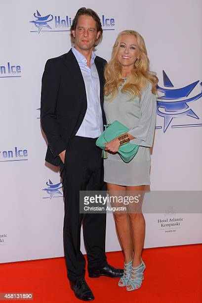 Jenny Elvers and Steffen von der Beeck attend Holiday on Ice 'Passion' Gala at Hotel Atlantic on October 30 2014 in Hamburg Germany