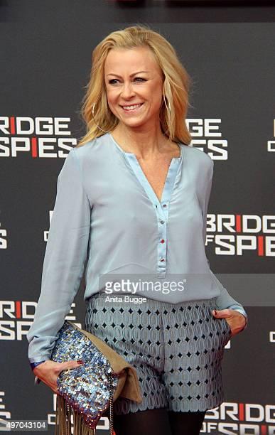 Jenny Elvers attends the 'Bridge of Spies Der Unterhaendler' world premiere at Zoo Palast on November 13 2015 in Berlin Germany