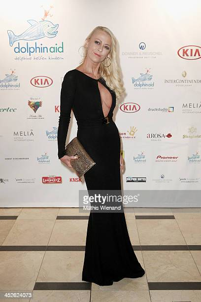 Jenny Elvers attends the 'Dolphin's Night 2013' at InterContinental Hotel on November 30 2013 in Dusseldorf Germany