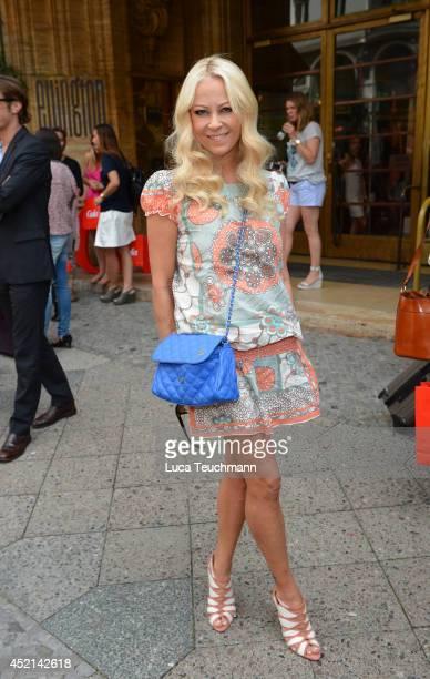Jenny Elvers attends the Gala Fashion Brunch at Ellington Hotel on July 11 2014 in Berlin Germany