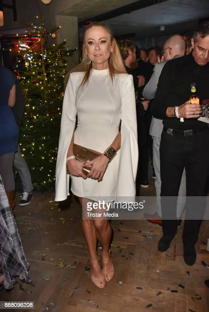 Jenny Elvers during the Medienboard PreChristmas Party at Schwuz at Saeaelchen on December 7 2017 in Berlin Germany