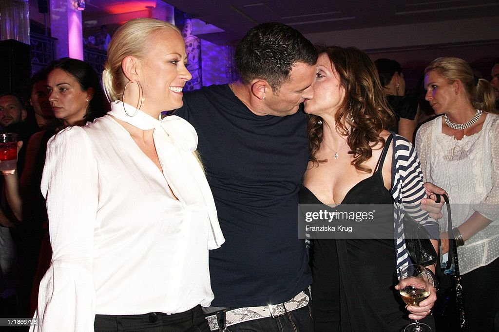 Jenny Elvers Elbertzhagen Michael Michalsky And Vicky Leandros In The 'Michalsky' Party In The 'Mercedes Benz Fashion Week' in Berlin