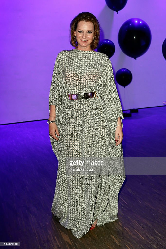Jenny Falckenberg attends the Dawid Tomaszewski show during the Mercedes-Benz Fashion Week Berlin Spring/Summer 2017 at Stage at me Collectors Room on June 28, 2016 in Berlin, Germany.