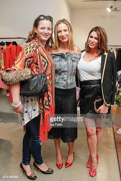 Jenny Falkenberg Kathrin Bruss and Sabia Boulahrouz attend the Petra Teufel GALA Fashion Night on May 20 2015 in Hamburg Germany
