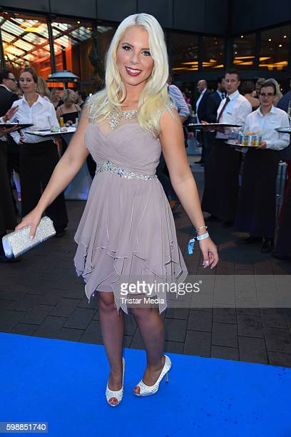 Jenny Frankhauser attends the Alcatel Entertainment Night on September 2 2016 in Berlin Germany