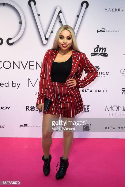 Jenny from the Block attends the GLOW The Beauty Convention on May 13 2017 in Duesseldorf Germany