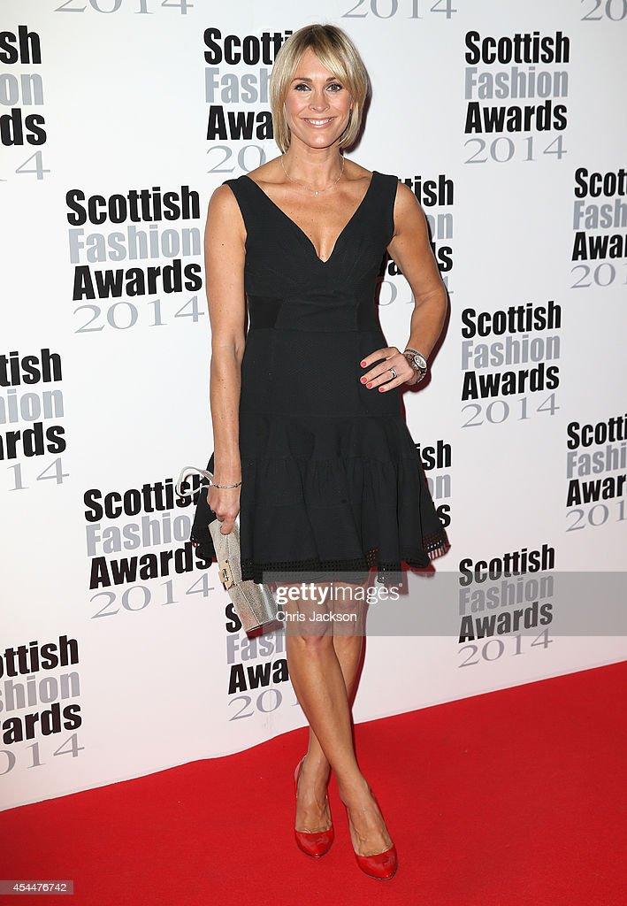 Jenny Frost attends The Scottish Fashion Awards on September 1, 2014 in London, England.