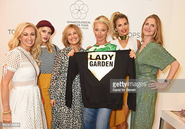 Jenny Halpern Prince Ashley James Mika Simmons Tamara Beckwith Vogue Williams and Chloe Delevingne attend the launch of the Lady Garden x Topshop...