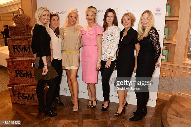 Jenny Halpern Prince Emma Gold Clare Beckwith Tamara Beckwith Katya Fomichev Mika Simmons and Astrid Harbord attend the Gynaecological Cancer Fund...