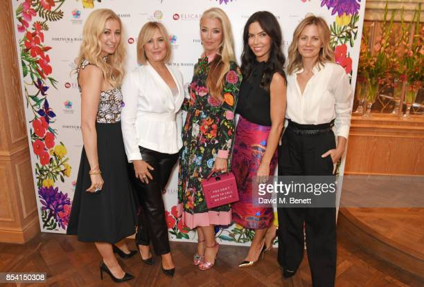 Jenny Halpern Prince Mika Simmons Tamara Beckwith Josephine Daniel and Jane Gottschalk attend the 4th annual Ladies' Lunch in support of the Silent...