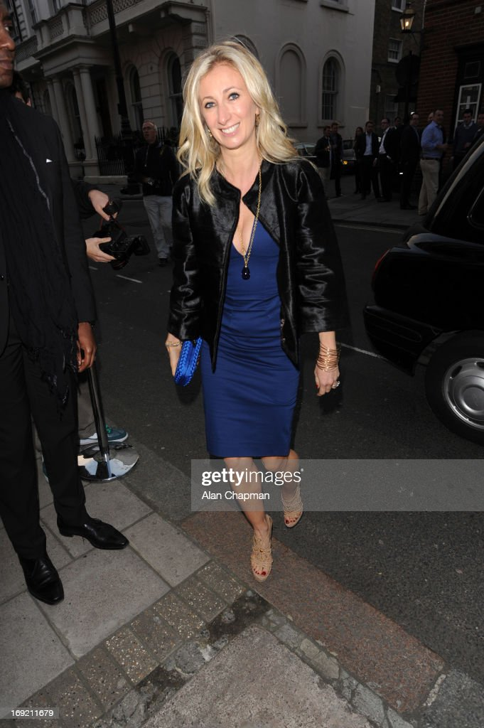 Celebrity Sightings In London - May 21, 2013