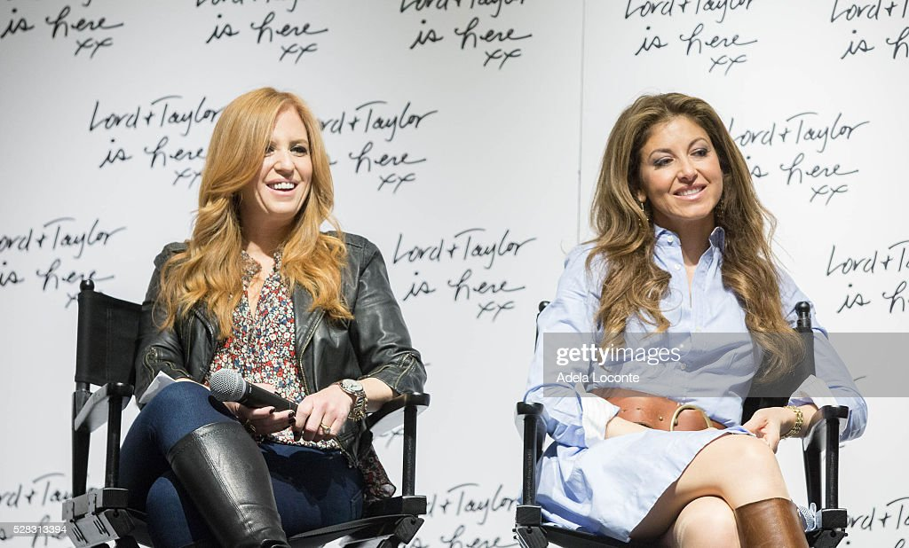 Jenny Hutt and Dylan Lauren discuss '4th Annual DivaMoms Mom Moguls Breakfast' at Lord & Taylor on May 4, 2016 in New York City.
