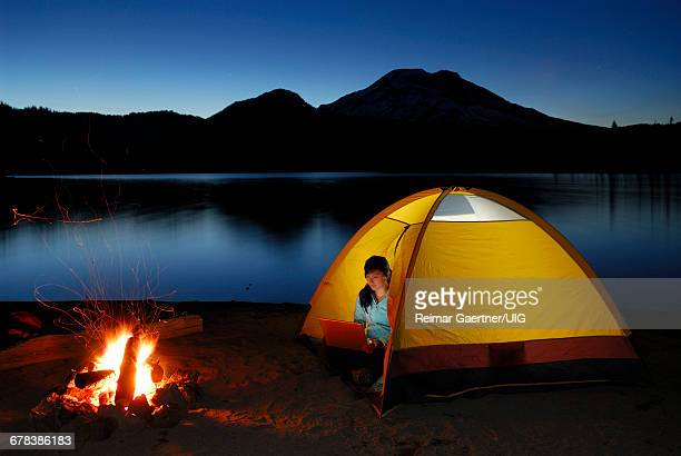Jenny In Tent