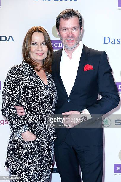 Jenny Juergens and John Juergens attend the Echo Award 2015 on March 26 2015 in Berlin Germany
