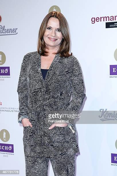 Jenny Juergens attends the Echo Award 2015 on March 26 2015 in Berlin Germany