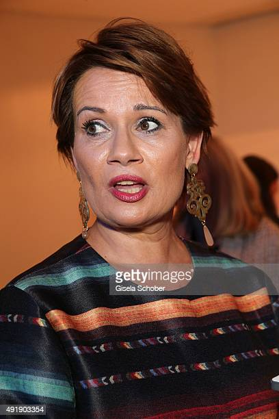 Jenny Juergens daughter of Udo Juergens during the Munich premiere of the musical 'Ich war noch niemals in New York' at Deutsches Theatre on October...