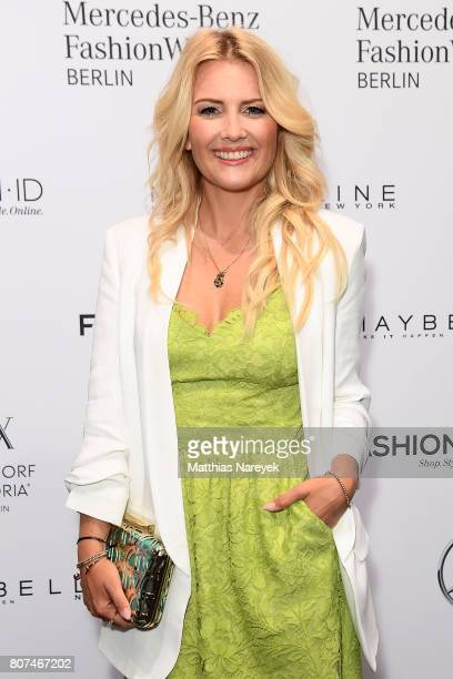 Jenny Knaeble attends the Ewa Herzog show during the MercedesBenz Fashion Week Berlin Spring/Summer 2018 at Kaufhaus Jandorf on July 4 2017 in Berlin...