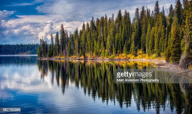 Jenny Lake reflections, Grand Teton National Park