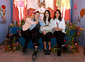 Jenny Lee Lindberg Emily Kokal Theresa Wayman and Stella Mozgawa of Warpaint attend the Coach X Serpentine The Future Contemporaries Party at The...