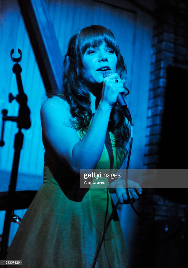 Jenny Lewis performs at the Harlyn Launch Party at Harvard And Stone on October 17, 2012 in Hollywood, California.