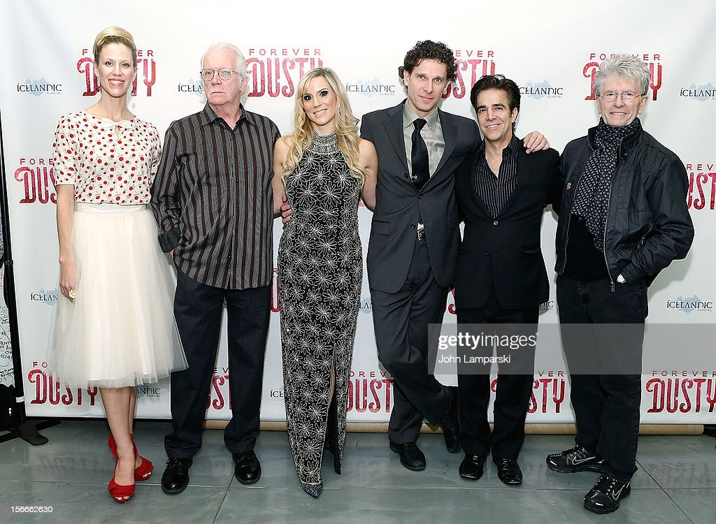 Jenny Lynn spencer, Randal Myler, Kirsten Holly Smith, Jonathan Vankin, and Paul Huntley attend the 'Forever Dusty' Opening Night at New World Stages on November 18, 2012 in New York City.