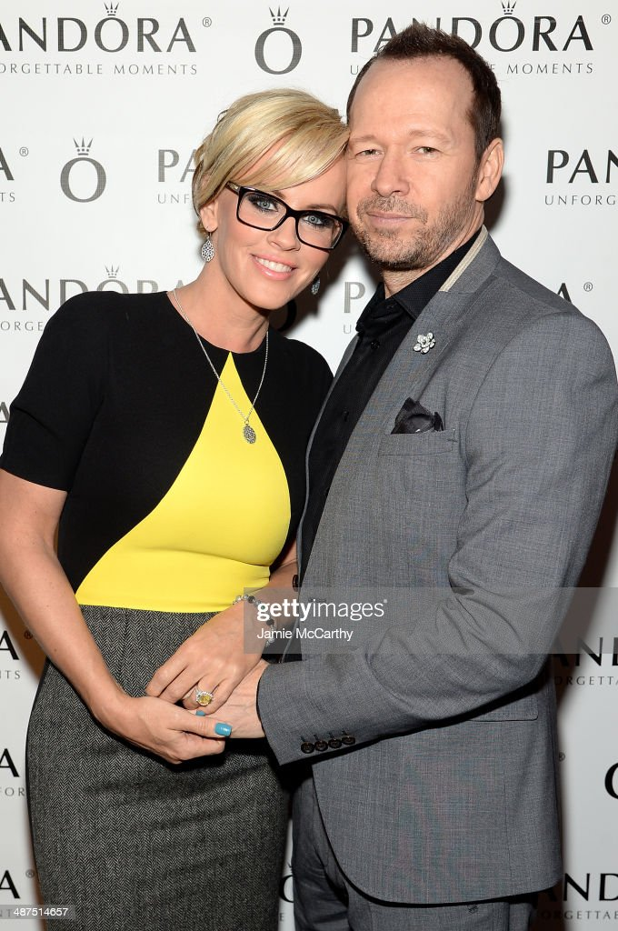<a gi-track='captionPersonalityLinkClicked' href=/galleries/search?phrase=Jenny+McCarthy&family=editorial&specificpeople=202900 ng-click='$event.stopPropagation()'>Jenny McCarthy</a> and <a gi-track='captionPersonalityLinkClicked' href=/galleries/search?phrase=Donnie+Wahlberg&family=editorial&specificpeople=220537 ng-click='$event.stopPropagation()'>Donnie Wahlberg</a> attend PANDORA Jewelry Presents A Pre- Mother's Day Dinner With <a gi-track='captionPersonalityLinkClicked' href=/galleries/search?phrase=Jenny+McCarthy&family=editorial&specificpeople=202900 ng-click='$event.stopPropagation()'>Jenny McCarthy</a> And Friends on April 30, 2014 in New York City.