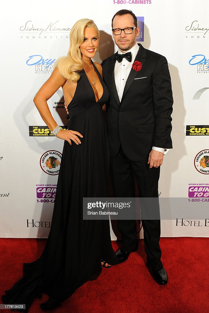 <a gi-track='captionPersonalityLinkClicked' href=/galleries/search?phrase=Jenny+McCarthy&family=editorial&specificpeople=202900 ng-click='$event.stopPropagation()'>Jenny McCarthy</a> and <a gi-track='captionPersonalityLinkClicked' href=/galleries/search?phrase=Donnie+Wahlberg&family=editorial&specificpeople=220537 ng-click='$event.stopPropagation()'>Donnie Wahlberg</a> attend the Dancing with the Stars Charity event hosted by <a gi-track='captionPersonalityLinkClicked' href=/galleries/search?phrase=Jenny+McCarthy&family=editorial&specificpeople=202900 ng-click='$event.stopPropagation()'>Jenny McCarthy</a> on August 24, 2013 at Hotel Baker in St Charles, Illinois.