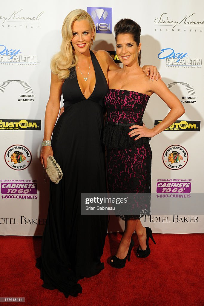 <a gi-track='captionPersonalityLinkClicked' href=/galleries/search?phrase=Jenny+McCarthy&family=editorial&specificpeople=202900 ng-click='$event.stopPropagation()'>Jenny McCarthy</a> and <a gi-track='captionPersonalityLinkClicked' href=/galleries/search?phrase=Kelly+Monaco&family=editorial&specificpeople=3958054 ng-click='$event.stopPropagation()'>Kelly Monaco</a> attend the Dancing with the Stars Charity event hosted by <a gi-track='captionPersonalityLinkClicked' href=/galleries/search?phrase=Jenny+McCarthy&family=editorial&specificpeople=202900 ng-click='$event.stopPropagation()'>Jenny McCarthy</a> on August 24, 2013 at Hotel Baker in St Charles, Illinois.