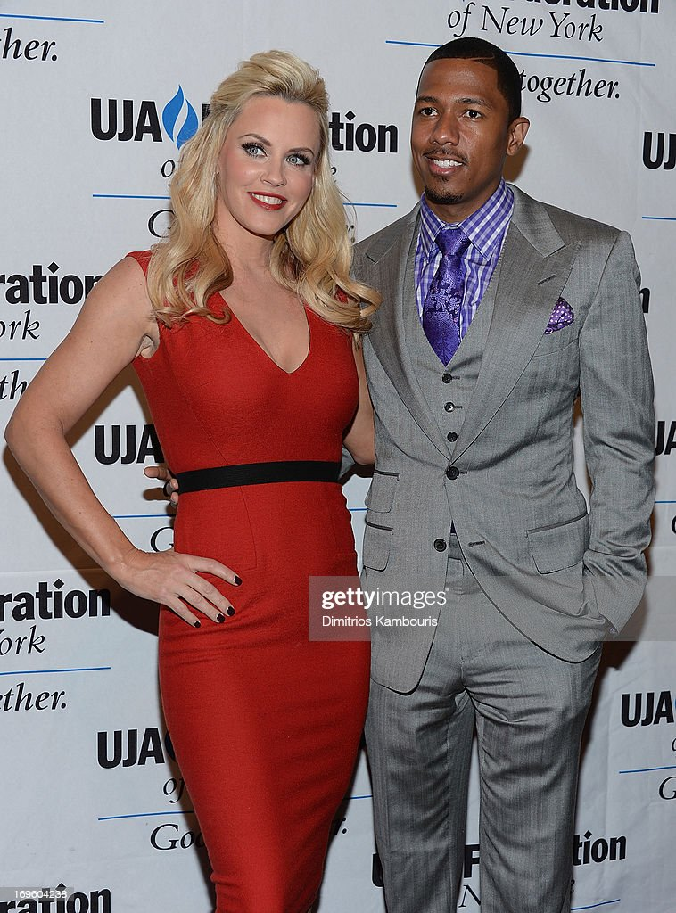 <a gi-track='captionPersonalityLinkClicked' href=/galleries/search?phrase=Jenny+McCarthy&family=editorial&specificpeople=202900 ng-click='$event.stopPropagation()'>Jenny McCarthy</a> and <a gi-track='captionPersonalityLinkClicked' href=/galleries/search?phrase=Nick+Cannon&family=editorial&specificpeople=202208 ng-click='$event.stopPropagation()'>Nick Cannon</a> attend the UJA-Federation Of New York Entertainment, Media And Communications Leadership Awards Dinner at Pier Sixty at Chelsea Piers on May 28, 2013 in New York City.